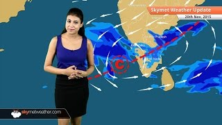 Weather Forecast for November 20, 2015 Skymet Weather: Rainfall in Chennai reduces significantly