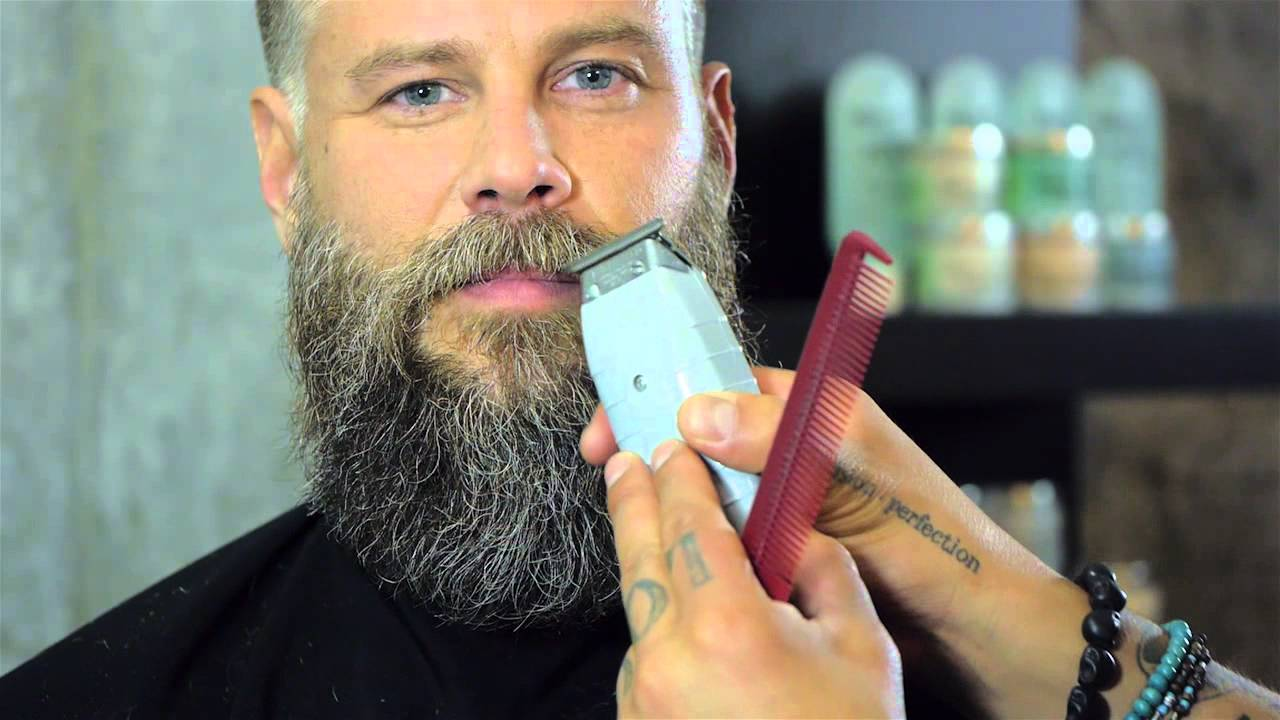 How To Trim A Beard By Daniel Alfonso Featuring Roy Oraschin Youtube