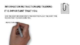 Basic UK health and safety legislation review.