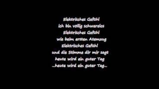 Juli Elektrisches Gefühl + Lyrics + High Quality