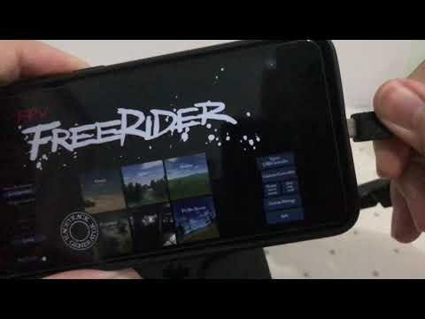Фото Cara mengkoneksikan Jumper T12 ke Fpv Simulator Freerider