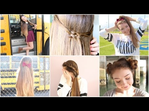 Cute Hairstyle To Start High School O Youtube