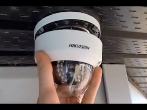 HIKVISION Dome PoE IP Camera Installation Guide DS 2CD2132-I