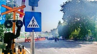 Perlintasan kereta api royal plaza rsi wonokromo surabaya jawa timur