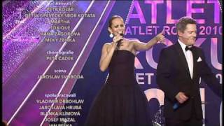 Monika Absolonová & Aleš Háma- Atlet Roku 2010