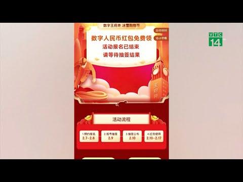 Lì xì tiền số kích thích tiêu dùng Tết Nguyên đán tại Trung Quốc | VTC14