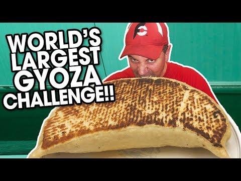 world's-largest-gyoza-dumpling-challenge-in-tokyo,-japan!!