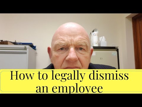 How to Legally Dismiss an Employee in Ireland