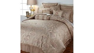 Highgate Manor Queen Anne 10piece Comforter Set  Beige