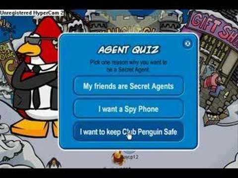 Club Penguin - How To Become A Secret Agent