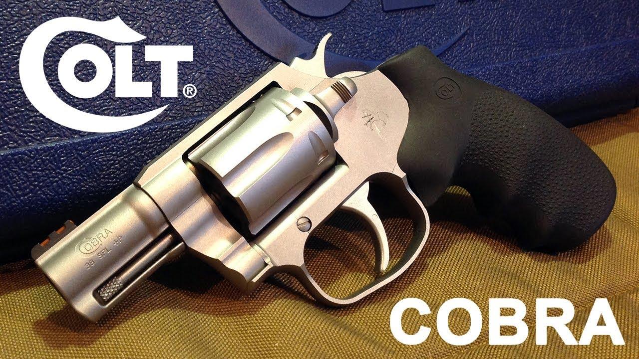 Colt: 4 New Cobra Revolver Models Approved for California Sales