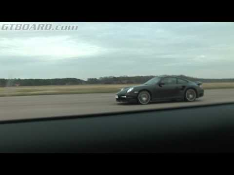 Porsche 997 Turbo Tiptronic (997) vs BMW M6 Coupe tuned