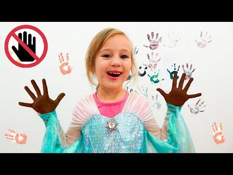 Алиса и Мама правила поведения для детей