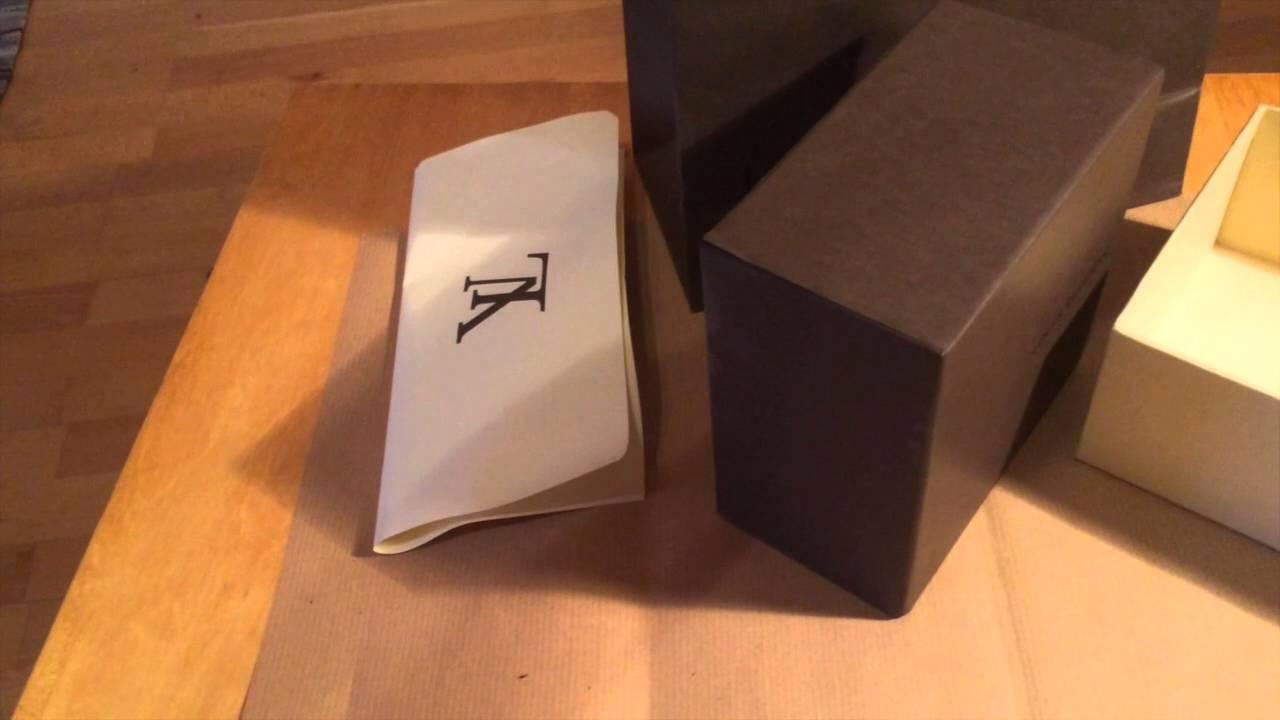 ce9bb419d56 Louis Vuitton Damier Gürtel (Belt) Unboxing - YouTube