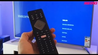 Philips Ambilight 49PUS6501/12: Unboxing & First Set Up