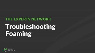 Troubleshooting Foaming in an Amine Plant