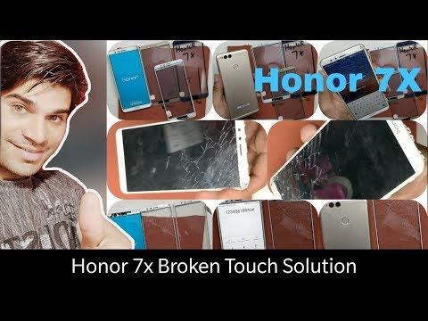 Huawei Honor 7X Crack Touch Glass Only Replacement-Teardown,Battery