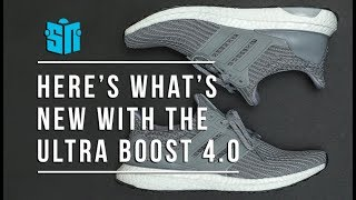 Here's What's New with the Ultra Boost 4.0