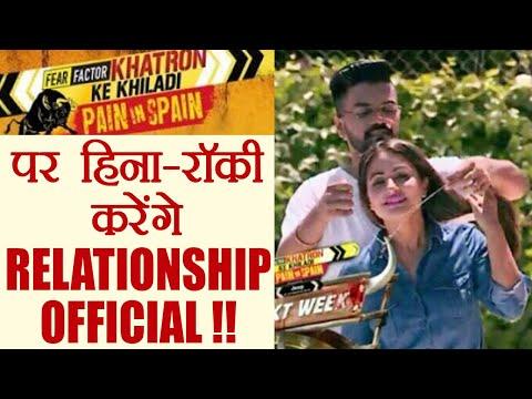 Khatron Ke Khiladi 8: Hina Khan and Rocky to make RELATIONSHIP OFFICIAL on Show   FilmiBeat