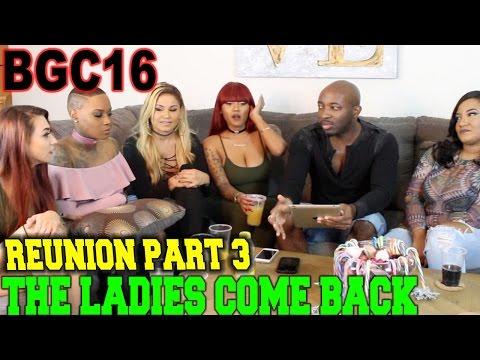 BGC 16 Bad Girls Club REUNION pt3 Kandy, Steph, Kailie, Kabrina & Tiara GIVE TEA!