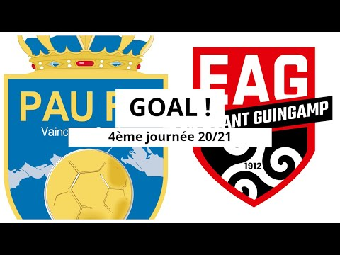 Pau Guingamp Goals And Highlights