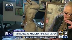Arizona Fine Art Expo underway in Scottsdale