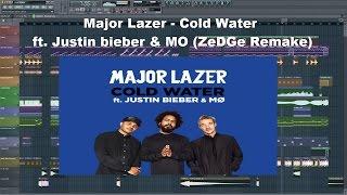 Major Lazer - Cold Water (ft. Justin Bieber & MØ) (FREE FLP REMAKE 99% THE SAME)