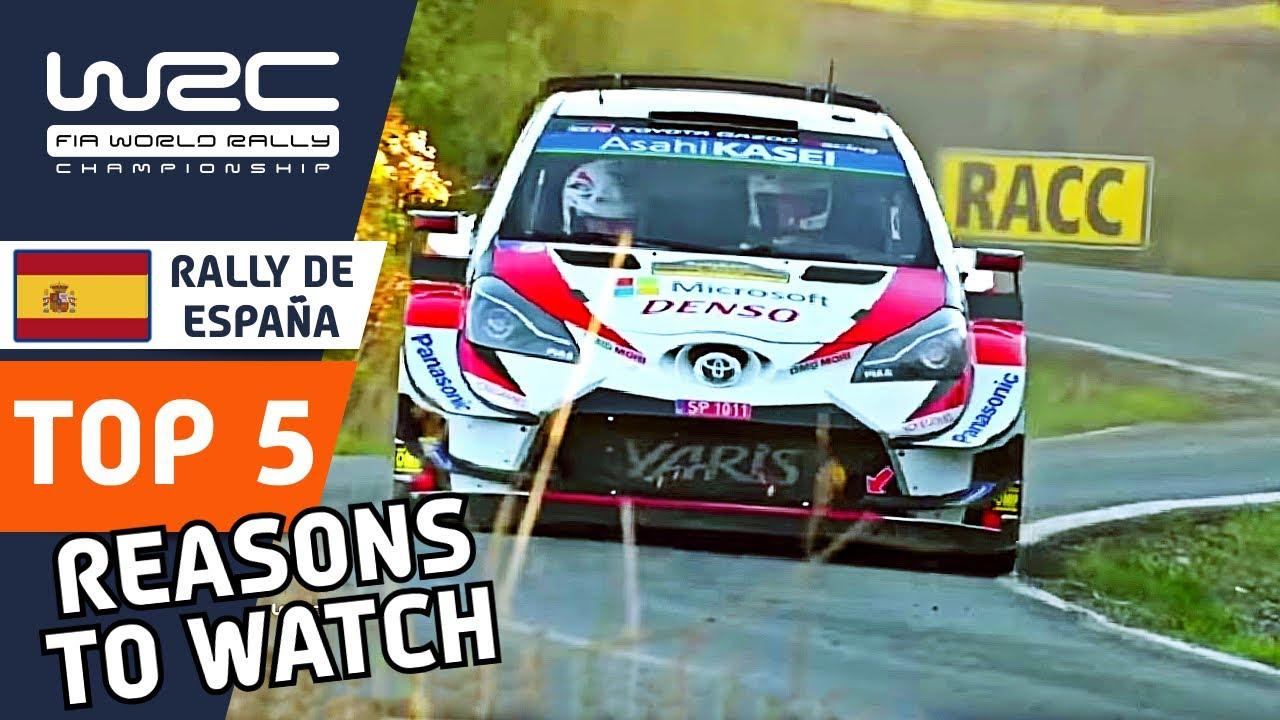 Top 5 Reasons to Watch WRC RallyRACC - Rally de España 2021