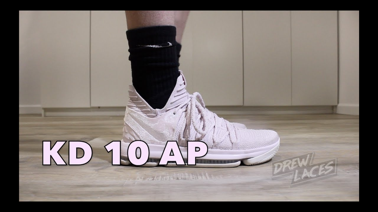 best value 69b92 76ea6 Nike Zoom KD 10 Aunt Pearl on Feet