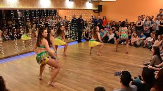 Samba lambada ladies show in Stolarna