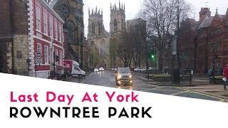 Last Day At York Rowntree Park Caravan And Motorhome Club Site | York Rowntree Park 2018 Pt4