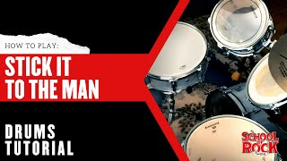 Stick It to the Man: DRUMS Tutorial  |  School of Rock The Musical