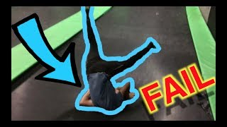 THIS KID ALMOST BROKE HIS NECK!