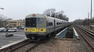 LIRR HD 60fps: Not-In-Service Budd M3s Bypassing Lynbrook Towards Long Beach (4/9/19)