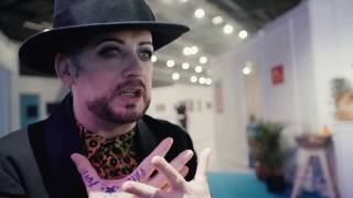 Interview with Boy George (Culture Club)