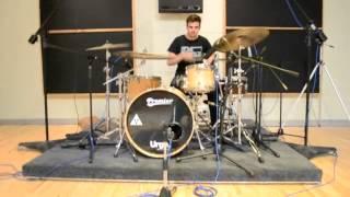 Toya Delazy - Love is in the Air (Drum cover by Sheldon Yoko)