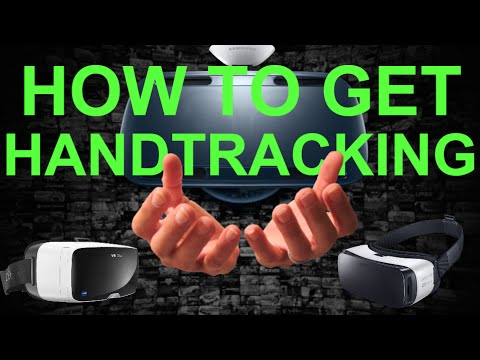 How To Get Hand Tracking On Gear VR or Google Cardboard (How to set up Hand Tracking In SteamVR)