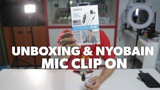 Microphone Clip On BOYA BY-M1 Lavalier VLOG Mic