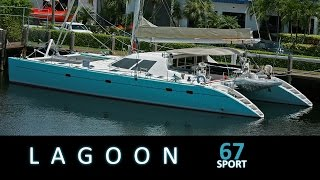 Sailing around on a Lagoon 67 s