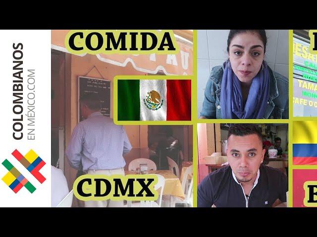Comida de Colombia y México