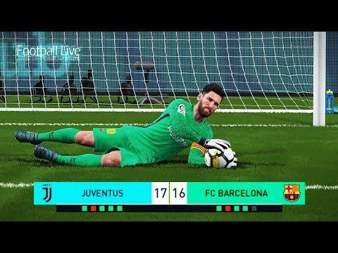 PES 2018 | Goalkeeper P.DYBALA Vs Goalkeeper L.MESSI | Penalty Shootout | Juventus Vs Barcelona