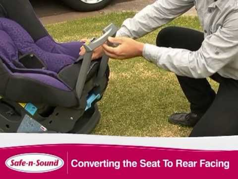 Safe N Sound Compaq Convertible Car Seat NEW 2012 - YouTube