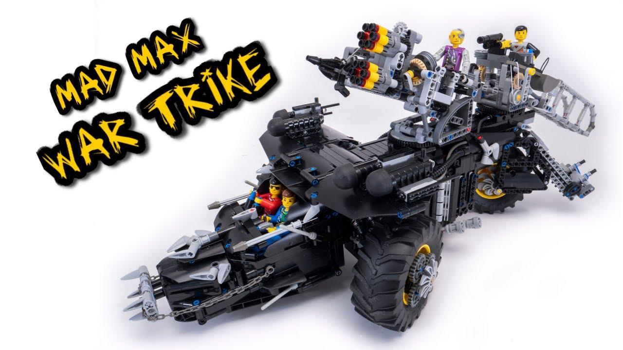 LEGO Technic War Trike -- Mad Max contest [TC17] -- MOC