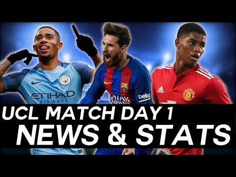 EVERYTHING You Need To Know From Match Day 1 - UEFA Champions League 2017/18 Review