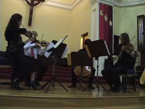 String Quartet No 4 in E minor, Op 44 No 2 pt 1,Allegro assai appassionato
