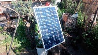 Солнечная электростанция своими руками  Готовимся к постройке.(Солнечный элемент из Aliexpress - https://goo.gl/y0mN2k Где купил солнечную панель на 100W в Новосибирске - http://goo.gl/Yyy0VG Магази..., 2016-06-27T15:00:00.000Z)