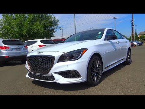 2018 Genesis G80 Sport 3.3 L Twin Turbo V6 Review