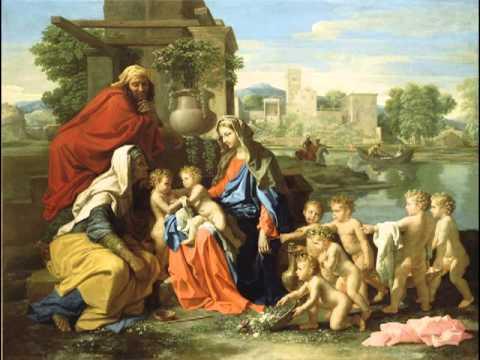 The Holy Family, Nicolas Poussin