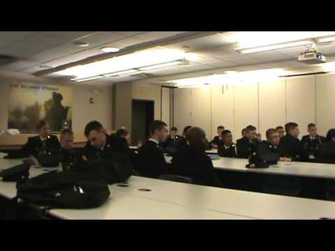 Army Writing Class
