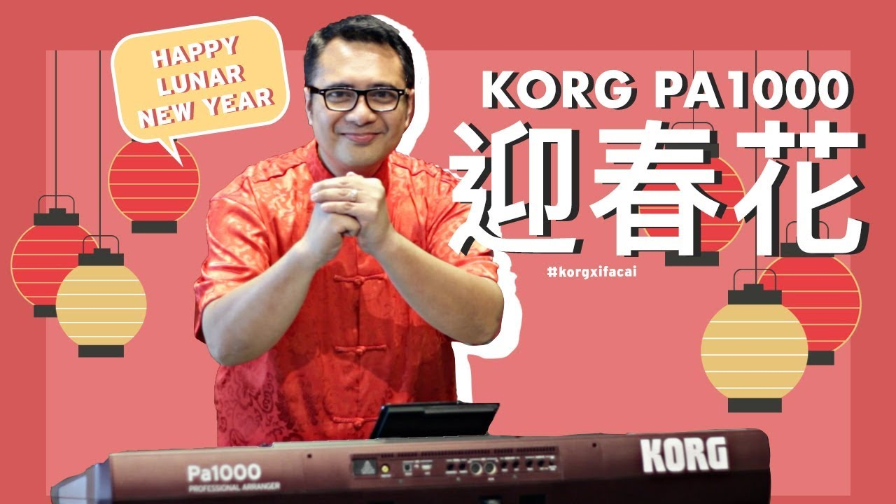 Blog - New Localised Sounds / Styles for the KORG Pa Series